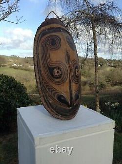 Spirit Mask From The Sepik Region Of Papua New Guinea