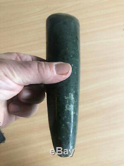Splendid large green Jade stone bride price celt Sentani West Papua (New Guinea)