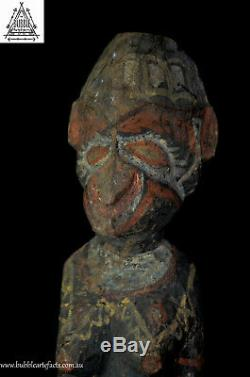 Stunning Fine Old Guardian Female Spirit Figure, Kwoma, Papua New Guinea, PNG