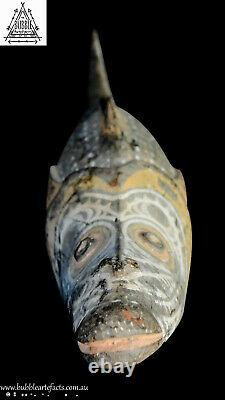 Stunning Powerful Old Spirit Totem, Sawos, PNG, Papua New Guinea, Oceanic