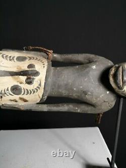 Stunning Powerful Old Spirit Totem, Sawos, PNG, Papua New Guinea, Oceanic