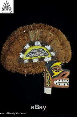 Stunning Tatanua Spirit Mask, Kavieng, New Ireland, PNG, Papua New Guinea