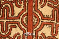 Tapa cloth, painted beated bark, popondetta, papua new guinea