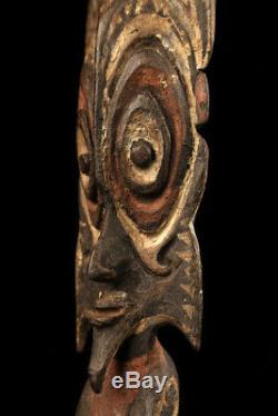 Tribal figure, ancestor figure, statue, sepik carving, papua new guinea