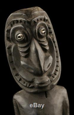 Tribal figure, ancestor statue, sepik carving, papua new guinea