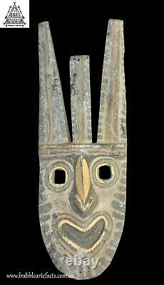 Unique Old Ancestor Spirit Mask, Washkuk Hills, Papua New Guinea, PNG, Oceanic