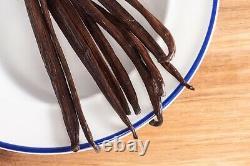 Vanilla Beans Grade A Gourmet Beans Whole Prime 5.57 Native Vanilla