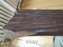 Vintage Collectible Papua New Guinea Wooden Paddle 69 Inches Long