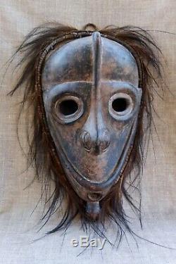 Wood Ancestor Spirit Mask Sepik Papua New Guinea