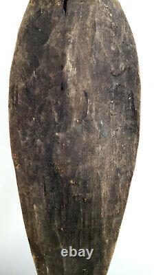 Wooden Carved Tribal Papua New Guinea Sepik Board