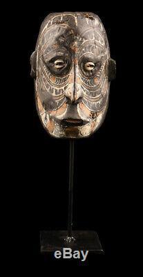 Wooden head, sepik mask, amulet, papua new guinea, amulette