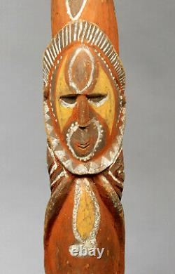 Yam Ancestor Figure Totem Pole Papua New Guinea with Provenance