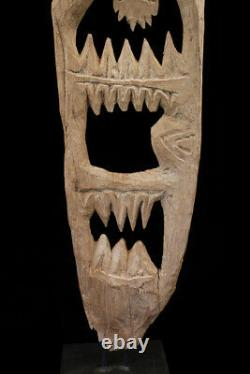 Yipwon cult figure, karawari river, papua new guinea, oceanic tribal art