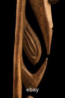 Yipwon cult figure, korewori river, papua new guinea, oceanic art, art océanien