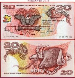 (com) PAPUA NEW GUINEA 20 KINA 2000 Commemorative P 24 UNC